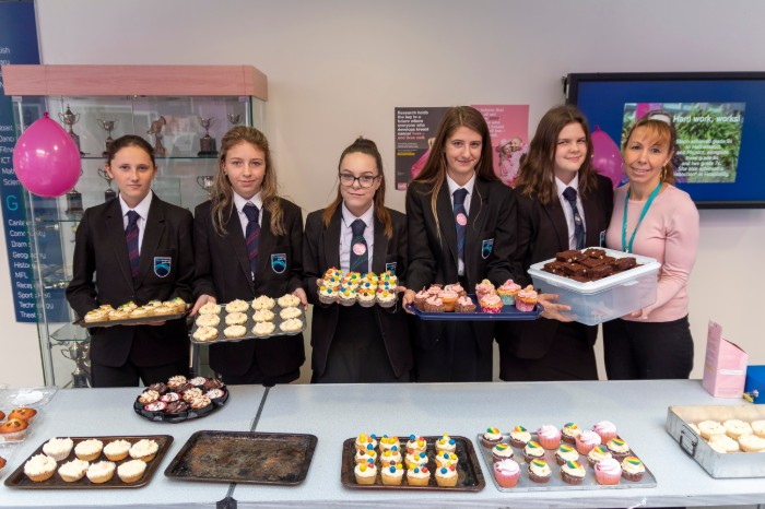 Cake Sale for Breast Cancer Awareness Month